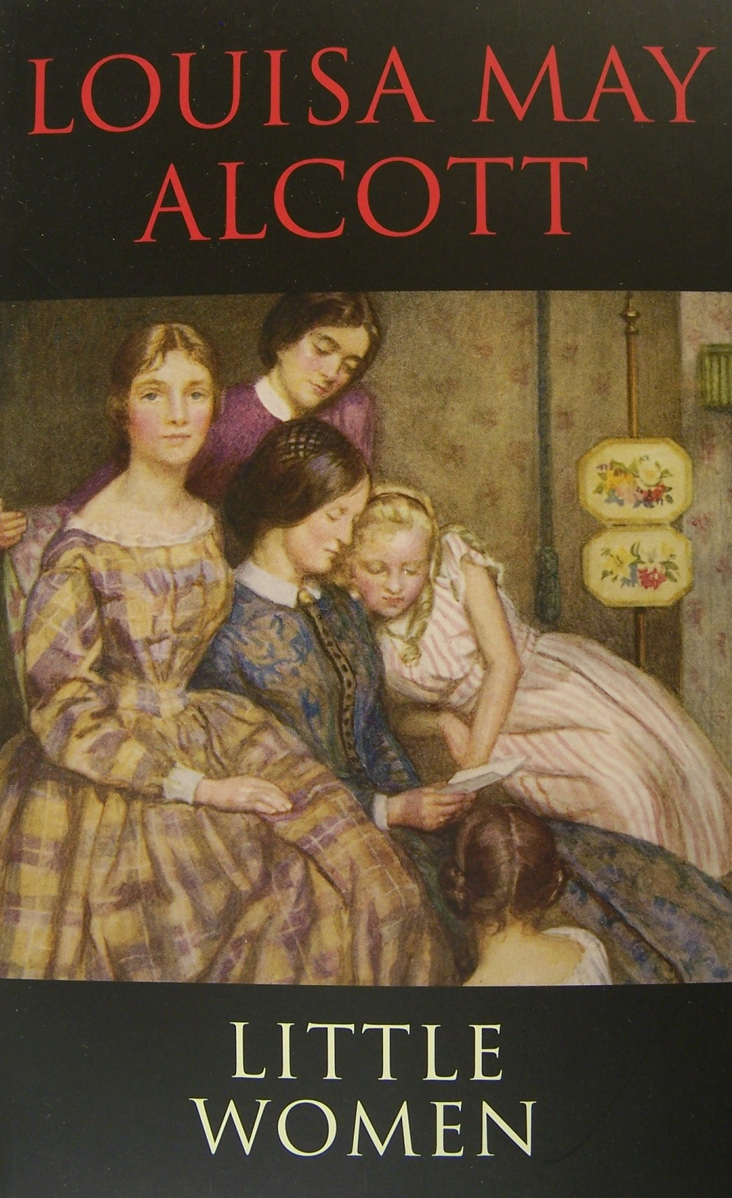 an analysis of the book little women by louisa may alcott Little women louisa may alcott for a good picture or two hung on the walls, books filled the recesses little women mother.