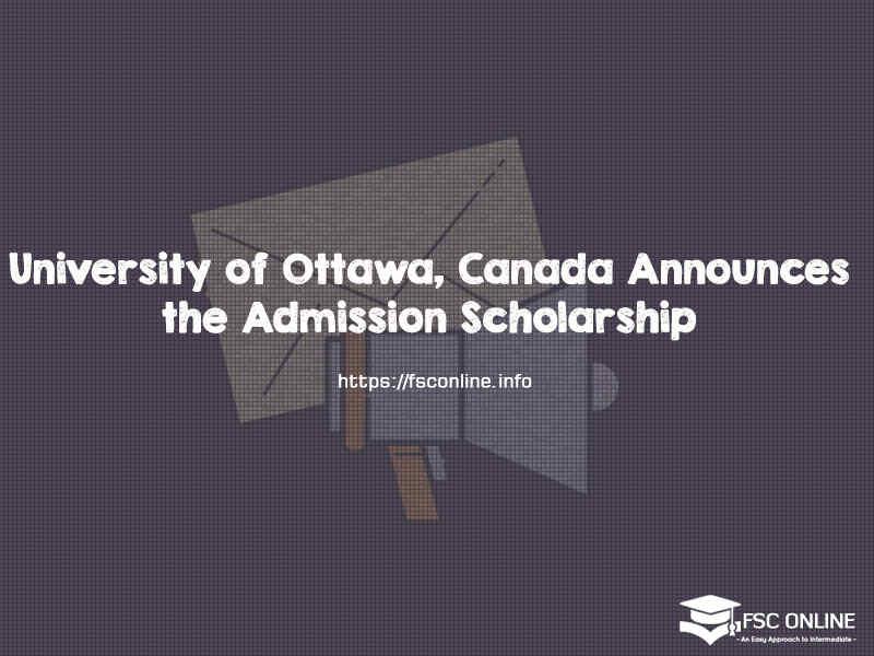 University of Ottawa, Canada International Admission ...