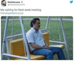 Shafqat Mahmood Meme 3
