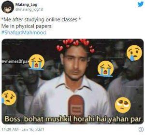 Shafqat Mahmood Meme 1